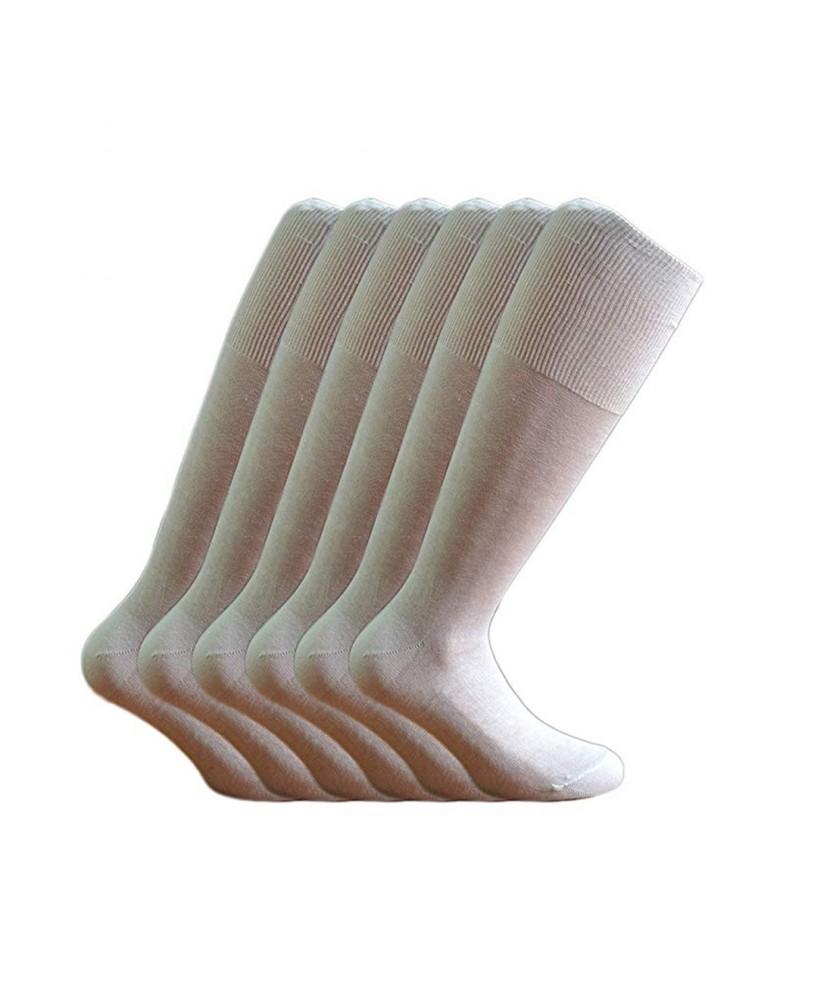 12-paia-di-calze-UOMO-lunghe-in-100-Cotone-Filo-di-Scozia-12-600FDS miniature 3