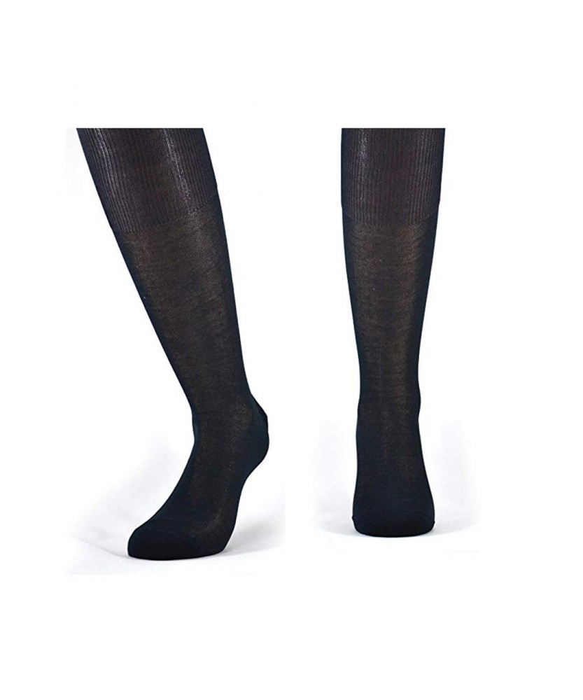 12-paia-di-calze-UOMO-lunghe-in-100-Cotone-Filo-di-Scozia-12-600FDS miniature 4