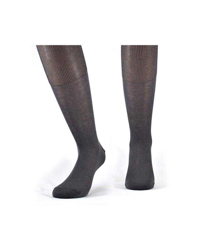 12-paia-di-calze-UOMO-lunghe-in-100-Cotone-Filo-di-Scozia-12-600FDS miniature 6